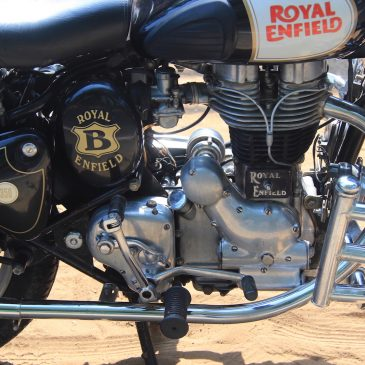 Royal Enfield: « Make like a gun »