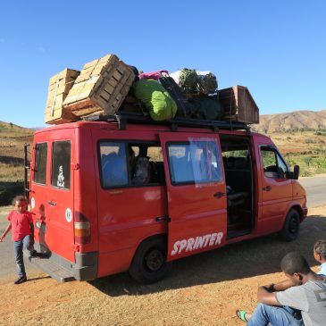 Le « chapa »: le transport local mozambicain
